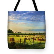 Grain In The Field Tote Bag