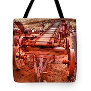 Grain Sack Loader Tote Bag