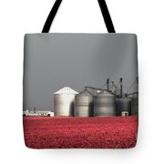 Grain Storage Infrared No1 Tote Bag