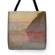 Grainstack, Sunset Tote Bag