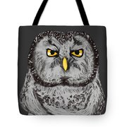 Grammar Owl Is Judging You Tote Bag