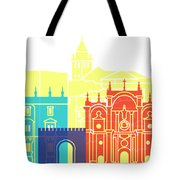 Granada Skyline Pop Tote Bag