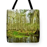 Grand Bayou Swamp Tote Bag