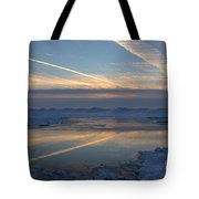 Grand Bend Winter Reflections 2 Tote Bag
