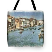 Grand Canal In Venice Tote Bag