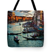 Grand Canal Sunset Tote Bag