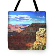 Grand Canyon # 22 - Mather Point Overlook Tote Bag