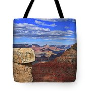 Grand Canyon # 29 - Mather Point Overlook Tote Bag