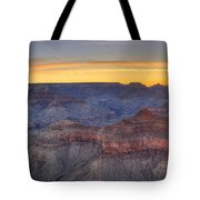 Shimmering Warmth In Panoramic Tote Bag