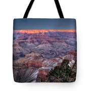 Grand Canyon Blue Hour Tote Bag