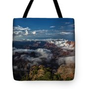 Grand Canyon Fog Tote Bag