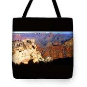 Grand Canyon National Park Arizona Panorama Tote Bag