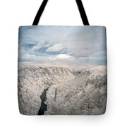 Grand Canyon Of Pa In Infrared Tote Bag