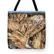 Grand Canyon Of The Yellowstone 1 Tote Bag