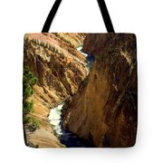 Grand Canyon Of The Yellowstone 2 Tote Bag