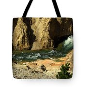 Grand Canyon Of The Yellowstone 3 Tote Bag