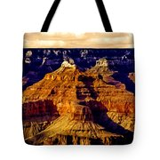 Grand Canyon Painting Sunset Tote Bag