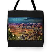 Grand Canyon Storm Tote Bag