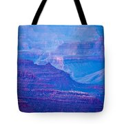 Grand Canyon Sunny Day With Blue Sky Tote Bag