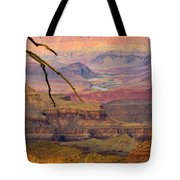 Grand Canyon Vista Tote Bag