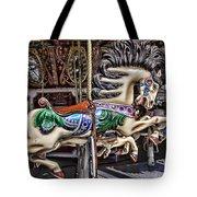 Grand Carousel Hourse Tote Bag