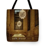 Grand Central Terminal Light Reflections Tote Bag