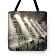Grand Central Terminal, New York In The Thirties Tote Bag
