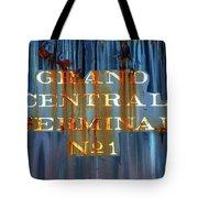 Grand Central Terminal No 1 Tote Bag