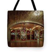 Grand Central Terminal Oyster Bar Tote Bag