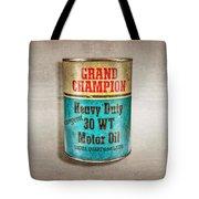 Grand Champion Motor Oil Tote Bag