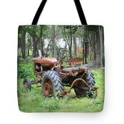 Grand Daddys Tractor Tote Bag