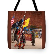 Grand Entry At Star Feather Pow-wow Tote Bag