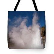 Grand Geyser Eruption Three Tote Bag