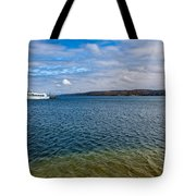 Grand Harbor On Lake Superior Tote Bag