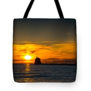 Grand Haven Sunset Tote Bag