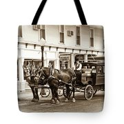 Grand Hotel Shuttle 10331 Tote Bag