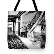 Grand Island Mansion Mosher Ranch 7 B And W Tote Bag
