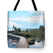 Grand Marais Breakwater Tote Bag