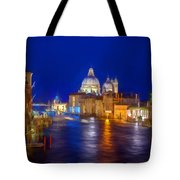 Grand Night On The Garand Canal Tote Bag