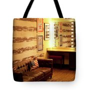 Grand Ole Opry House Backstage Dressing Room #5 In Nashville, Tennessee. Tote Bag