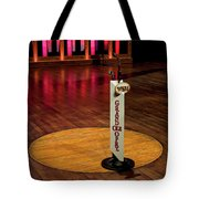 Grand Ole Opry House Stage Flooring - Nashville, Tennessee Tote Bag