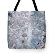 Grand Piano Aerial Tote Bag