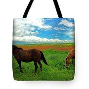 Grand-pre Horses Tote Bag