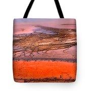 Grand Prismatic Algae Mat Panorama Tote Bag