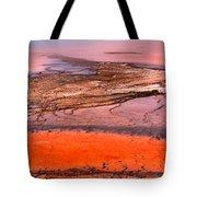 Grand Prismatic Panoramic Abstract Tote Bag