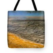 Grand Prismatic Runoff Tote Bag