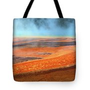 Grand Prismatic Spring, Yellowstone Tote Bag