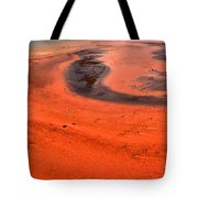 Grand Prismatic Swirls Tote Bag