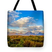 Grand Teton Fall Tote Bag