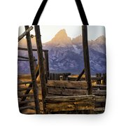 Grand Teton Framed Tote Bag
